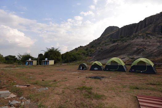 Rockside Camping AT Ramanagar