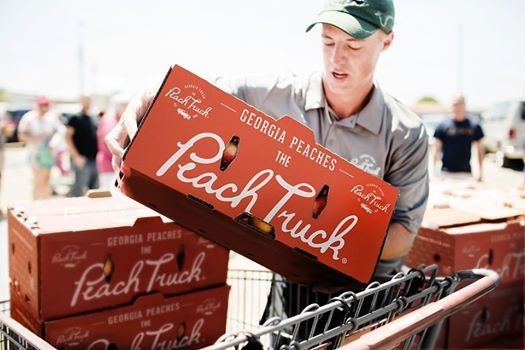 The Peach Truck Tour - Crystal River, FL at Rural King