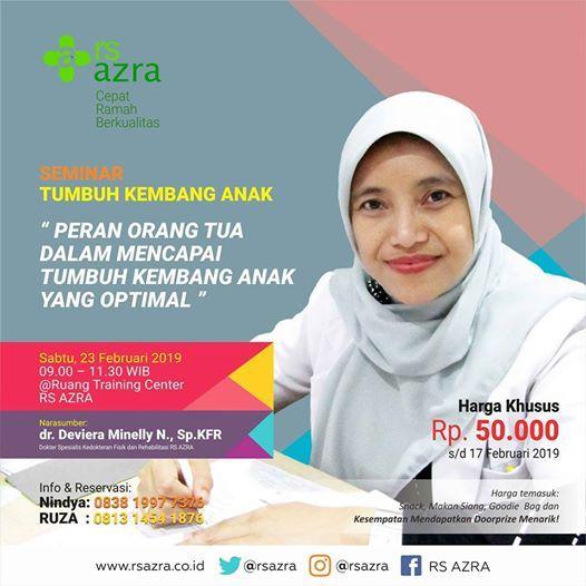 Seminar Tumbuh Kembang Anak RS AZRA