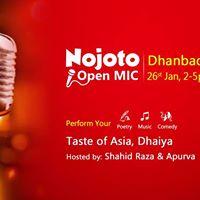 Nojoto Open Mic- Dhanbad