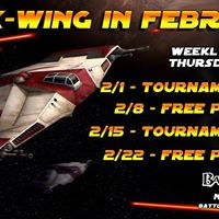 BG X-Wing Tournament Night 2118