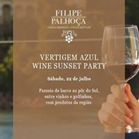 Filipe Palhoa Wine Sunset Party