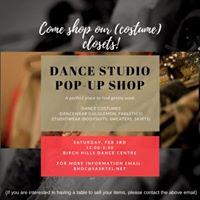 Dance Studio Pop-Up Shop