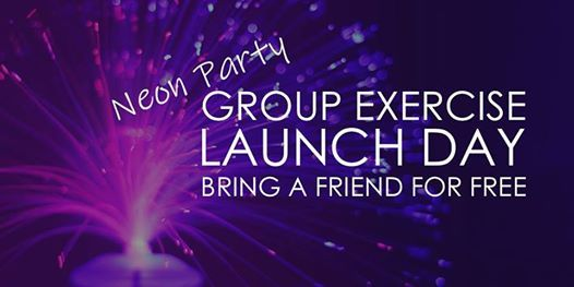 Group exercise launch - bring a friend