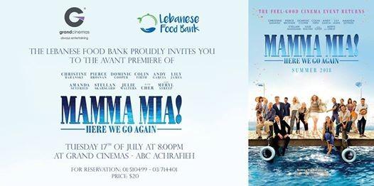 Mamma Mia 2 Avant-Premiere