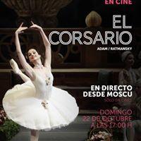 Ballet En Directe El Corsario des del Bolshoi Ballet