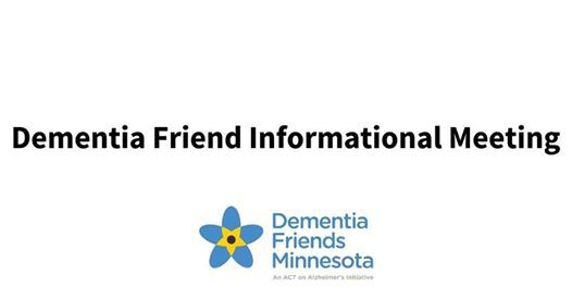 Dementia Friend Informational Session