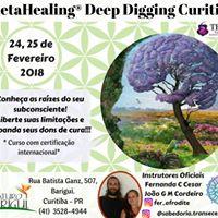 Curso ThetaHealing Deep Digging - CuritibaPR