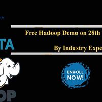 Free Hadoop Demo By The Experts At The Open Source Technologies On 28th...