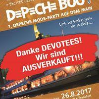 Ausverkauft - Depeche Boot VII 2 Floors Deine Party Dein Sonnen