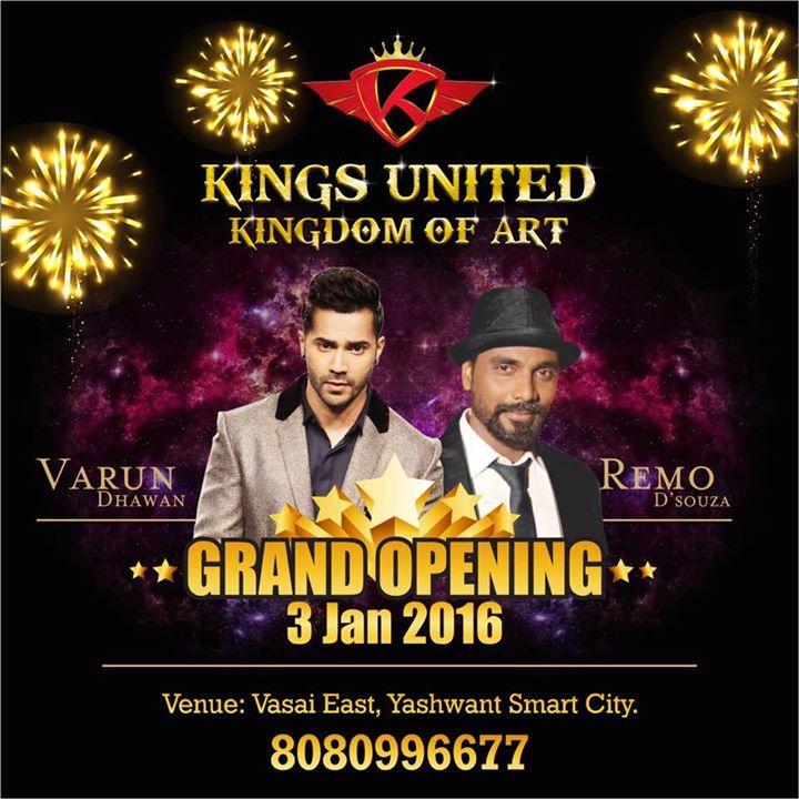 GRAND OPENING  - Kings United Kingdom of Art