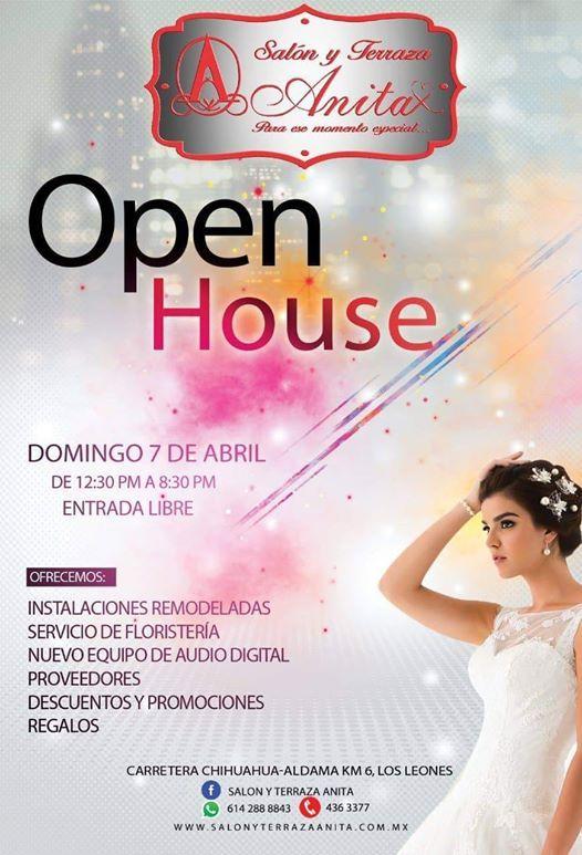 Open House Salón Y Terraza Anita At Salón Y Terraza Con