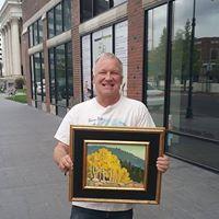 Mo Art Tuesdays 112117 - Painting with Eric Holland