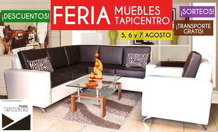 FERIA de Muebles Tapicentro  Quito