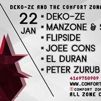 Deko-ze &amp Comfort Zone Pres. Just Like The Days - Tracks On Wax