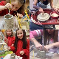 Kids Pottery Making Class with Artist Christien Van Bussel
