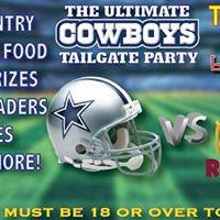 Cowboys vs WA Redskins Tailgate Party