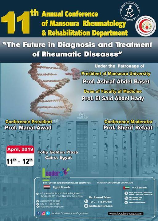 11th Annual Conference of Mansoura Rheumatology & Rehabilitation
