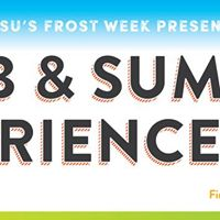 UTSUs Frost Week Clubs &amp Summer Experience Fair