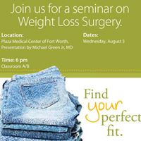 Weight Loss Surgery Education Session
