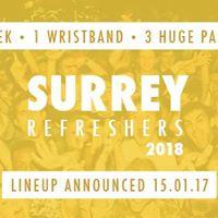 Surrey Refreshers 2018