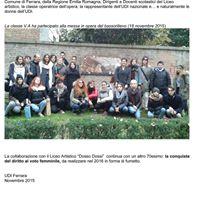 Alle donne Resistenti dei Gruppi di Difesa della Donna a Ferrara
