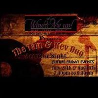 Live Music w Tam &amp Kev Acoustic Duo