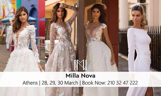 Milla Nova Trunkshow  Athens 210 32 47 222