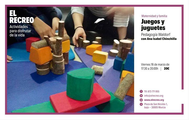 Juegos Y Juguetes Pedagogia Waldorf At El Recreo Murcia