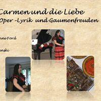 Carmen und die Liebe  Oper-Lyrik - Gaumenfreuden