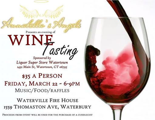 An Evening Of Wine Tasting at Waterbury Fire Fighters