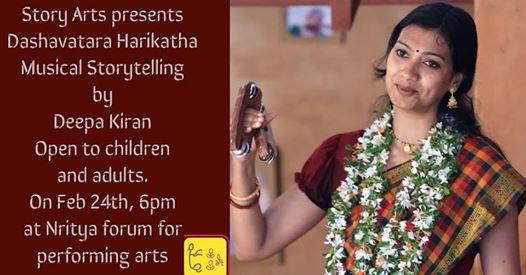 Dasavathara Musical Story Telling by Deepa Kiran
