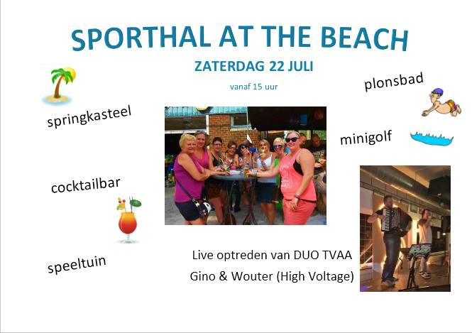 Sporthal At The Beach Herderen