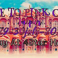 Ride To Pink City (JAIPUR)