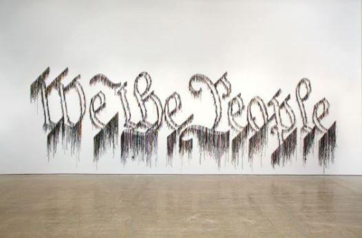 Gallery Talks Abbe Schriber on Nari Ward We the People