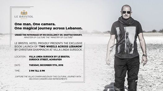 Launching of Two Wheels Across Lebanon book