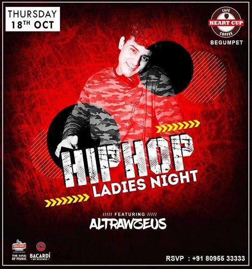 Hip-hop Ladies Night  Heartcup Begumpet