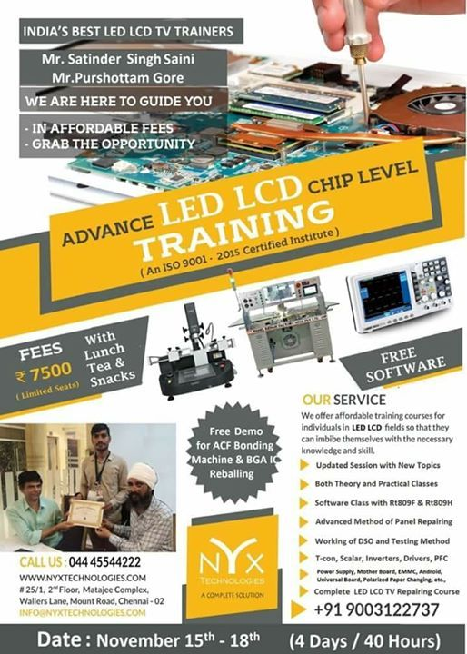LED LCD TV TRAINING