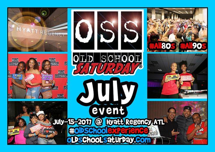 Next - OSS [Old School Saturday] at Hyatt [Aug.19.2017]