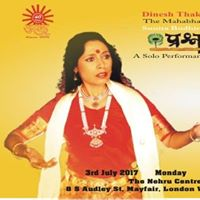 Ank Presents Prashna Panchali at Nehru Centre London