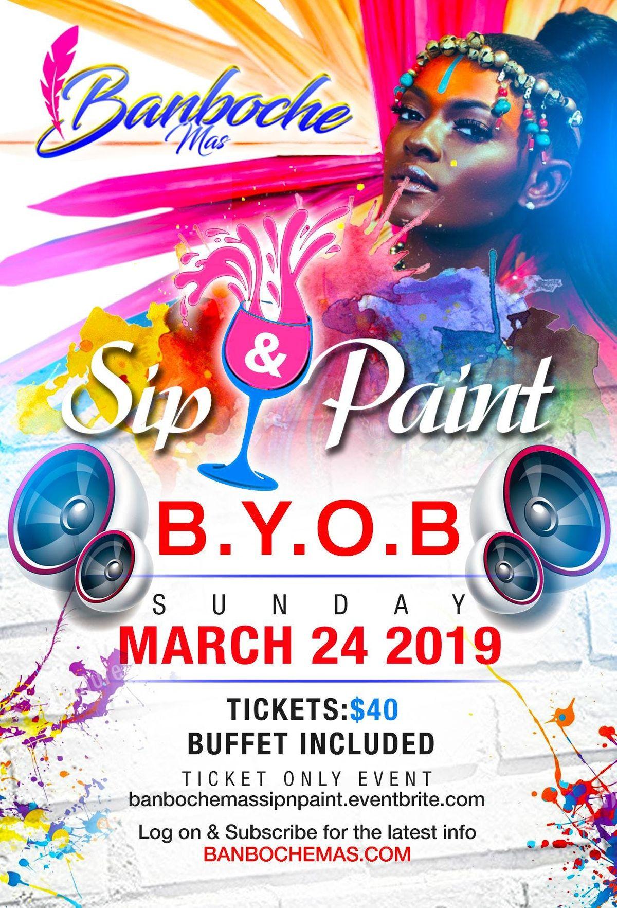 Banboche Mas Sip n Paint