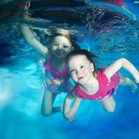 New baby beginner term at Govan High School - parent and child swimming lessons