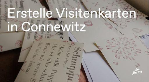 Workshop Erstelle Visitenkarten In Connewitz At Kochstraße