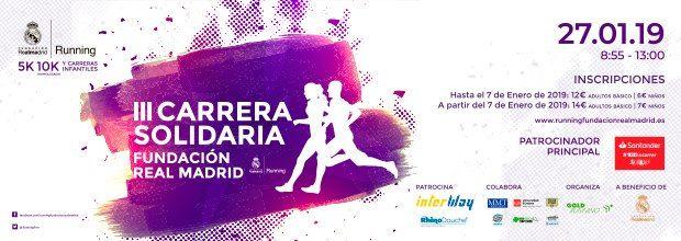 III Carrera Solidaria Fundacin Real Madrid