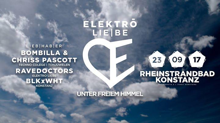 Elektro LIEBE Unter freiem Himmel 2017