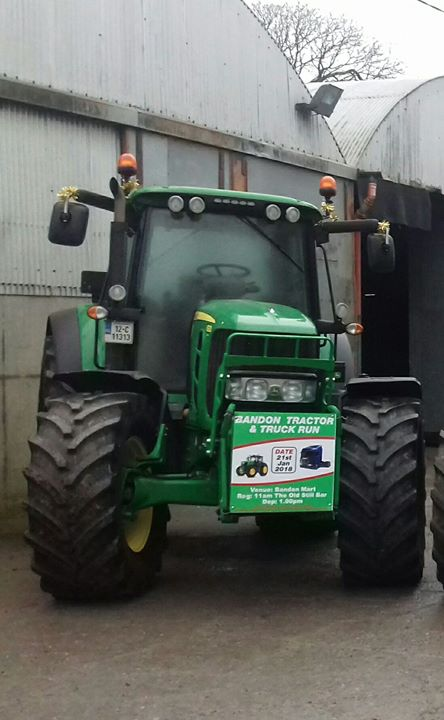 Bandon Tractor And Truck Run 21st January 2018