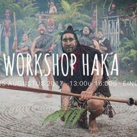 Workshop Haka  Haruru ana te ngaru