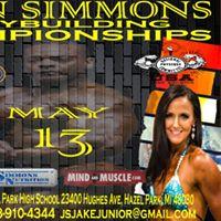 John Simmons Bodybuilding Championships NPC National Qualifier
