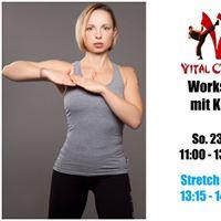 Vital Combat Workshop Juli 17 mit Kathy