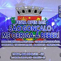 Festa - SG Me Obriga a Beber OPEN BAR - HR35 MR25 C nome no mural